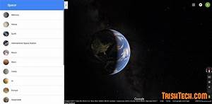 View Maps of Other Planets on Google Maps