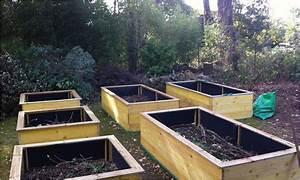 Fabriquer Un Potager Surélevé En Bois : bac jardinage pas cher ~ Melissatoandfro.com Idées de Décoration