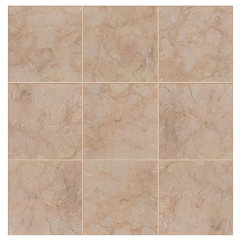 shop interceramic sea 14 pack sand porcelain floor