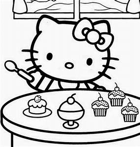 ImagesList.com: Hello Kitty for Coloring, part 4