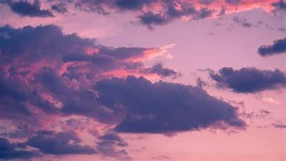 Sky Clouds Sunset Porous Background Widescreen