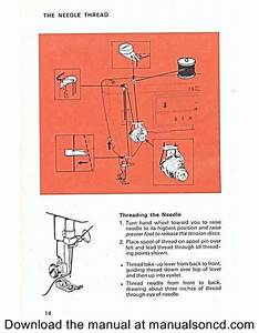 How To Thread The Singer 533 Sewing Machine