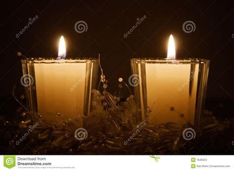 Candele Luminose by Candele Di Natale Immagini Stock Immagine 1648324