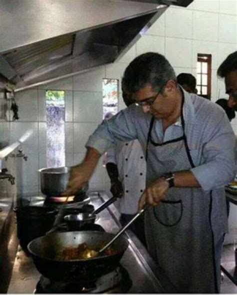 After Vijay, Ajith Cooks Biryani For His Film Crew