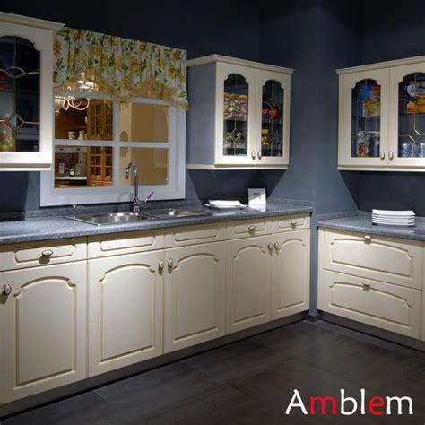 modern kitchen cabinet design amblem china manufacturer