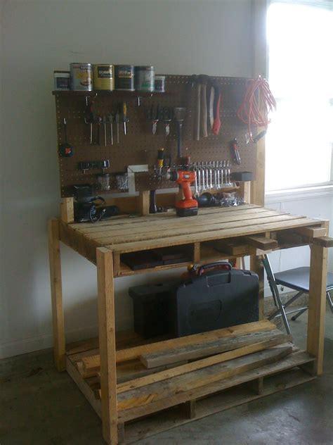 pallet workbench google search pallet work bench wood