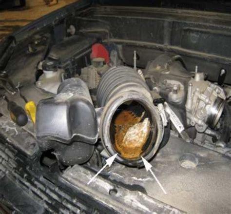 oil  air intake duct ricks  auto repair advice