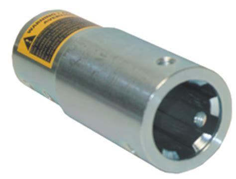 hypro pto adapter standard  pump shaft  rpm  splines dultmeier sales