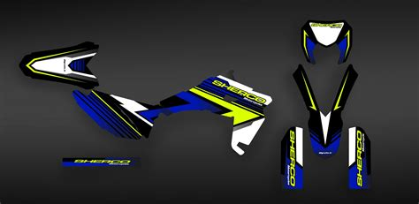 kit decoration factory 2017 edition sherco 250 300 450