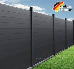 Sichtschutz Garten 2 Meter Hoch : aluminium zaunelement sichtschutz 2 00 x 1 80 m dach zaun ~ Bigdaddyawards.com Haus und Dekorationen