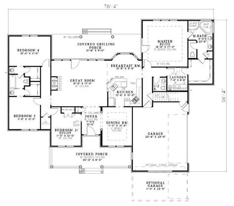 heffington neoclassical home plan 055d 0354 house plans