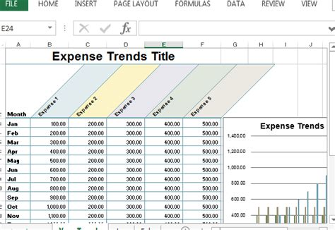 small business expense sheet  excel