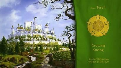 Thrones Tyrell Castle Sigils Desktop Wallpapers