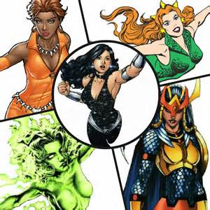 DC Comics Characters Female