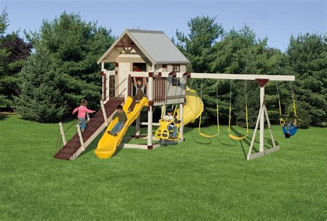 happy hideout playset package  swings