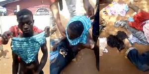 Young man nabbed by residents after stealing panties ...