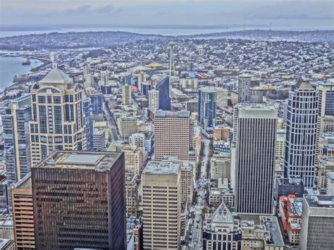 columbia center observation deck seattle view from observation deck columbia center
