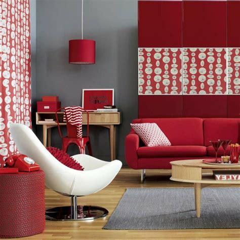Wohnzimmer Grau Rot by Wohnzimmer Grau In 55 Beispielen Erfahren Wie Das Geht