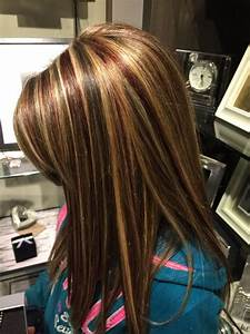 Best red low lights ideas on hair color