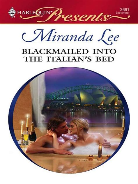 Link download film secret in bed with my boss full movie sub indo. Blackmailed Into the Italian's Bed by Miranda Lee - Book ...