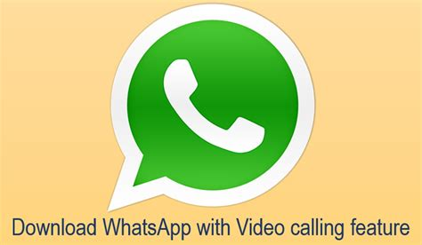whatsapp version with calling