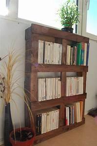 Acheter Meuble En Palette Bois : les 17 meilleures images concernant biblioth que palette ~ Premium-room.com Idées de Décoration