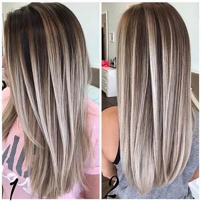 Straight Hair Hairstyles Highlights Cuts Sleek Haircuts