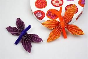 Schmetterlinge Aus Tonpapier Basteln : schmetterling basteln mit kindern ~ Orissabook.com Haus und Dekorationen
