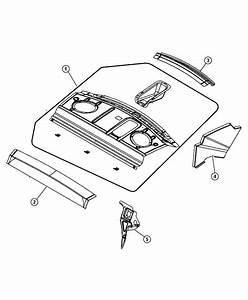 Chrysler Sebring Reinforcement  Shelf Panel Front