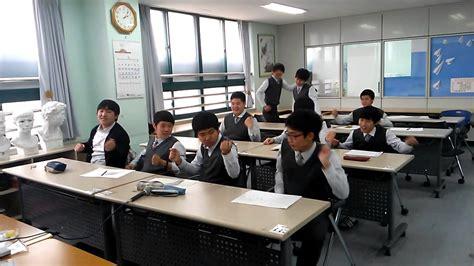 Korean High School Art Class