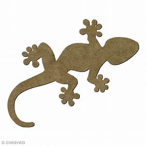 6 3 En Cm : l zard gecko en bois 6 5 x 3 3 cm insectes d corer ~ Dailycaller-alerts.com Idées de Décoration