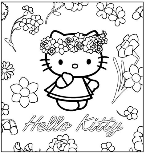 HD wallpapers coloriage hello kitty princesse a imprimer gratuit