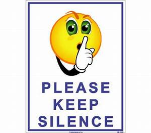 Keep Silence Sign Board