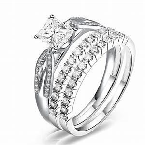 trio bridal set on closeout sale on jeenjewels With trio wedding rings sets sale