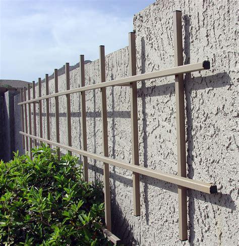 standard metal gardening trellis