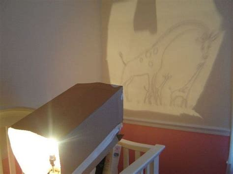 how to make a diy image projector using a light bulb and