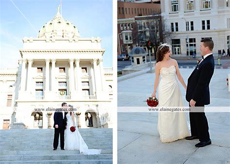 capitol rotunda wedding photographer harrisburg red sir