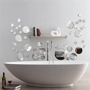 miroir rond mur achetez des lots a petit prix miroir rond With salle de bain design avec cadres décoratifs pour salon