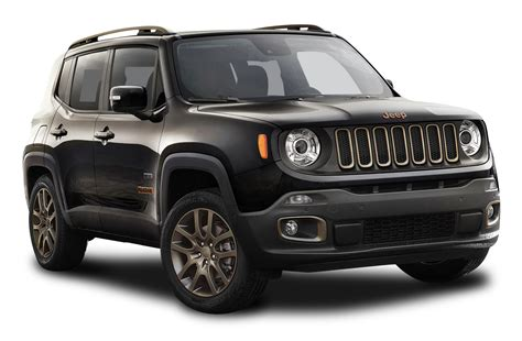 Jeep Car : Black Jeep Renegade Car Png Image