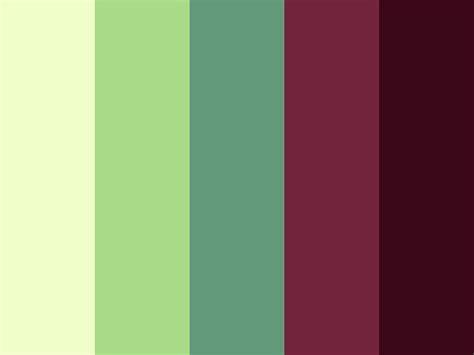 Lovely Color Palette {green, Light, Maroon, Pastel, Pink