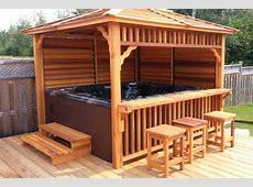 hot tub deck and bar Google Search Hot Tubs