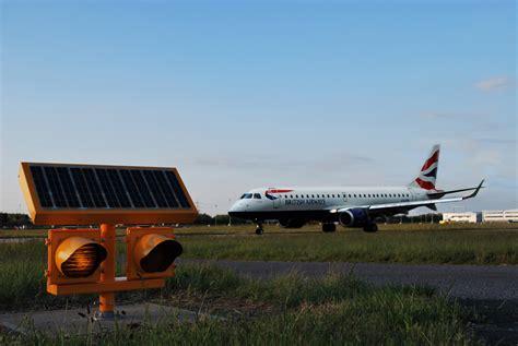 city airport adopts solar lighting solar power portal