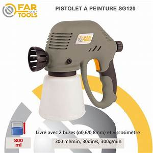Pistolet À Peinture Électrique : pistolet peinture lectrique sg120 ~ Dallasstarsshop.com Idées de Décoration