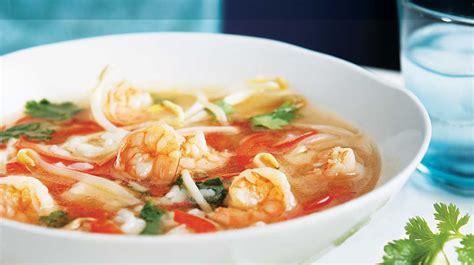 cuisine chinoise poisson soupe asiatique aux crevettes