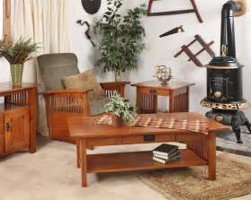 mission style dining room set craftsman collection