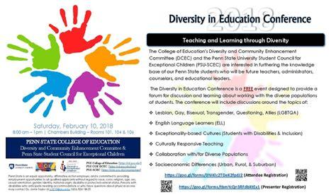 diversity  education conference set  feb  penn