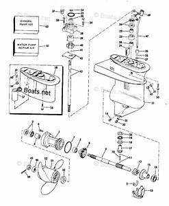 Evinrude Outboard Parts By Hp 15hp Oem Parts Diagram For Gearcase Group