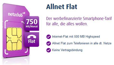 Prepaid Karte Allnet Flat