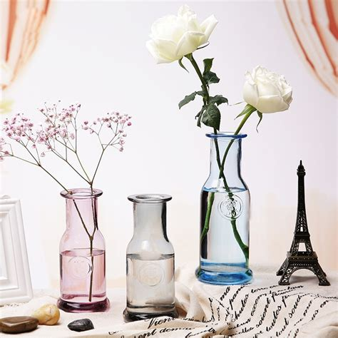 Colorful Vases by Europe Colorful Glass Vase Small Tabletop Vases