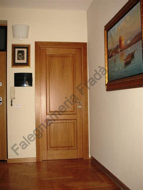 Porte Interne Legno Massello Porte Interne In Legno Massello Di Rovere Falegnameria